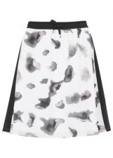 print, skirt, karl lagerfield, fashion