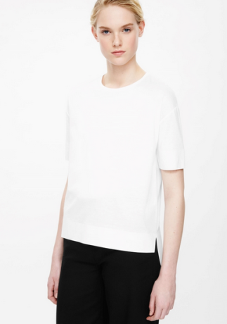 Cos, defineadream, white top, jess barrett